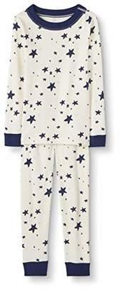 Hanna Andersson Moon and Back by Big Kids 2 Piece Long Sleeve Pajama Set