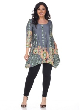White Mark Plus Size Rella Tunic