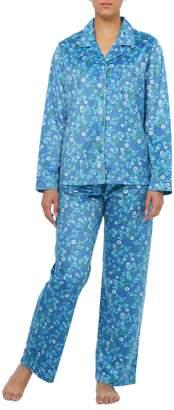 Jasmine Rose 2-Piece Floral-Print Pyjama Set