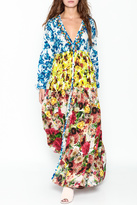 Rococo Sand Multicolored Maxi Dress