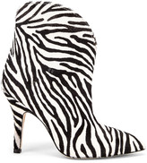 Paris Texas Pony Ankle Boot in Zebra   FWRD