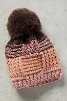 Anthropologie Thatched Pom Beanie