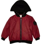 River Island Mini boys red padded jacket with hood