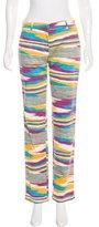 Missoni Printed Straight-Leg Pants