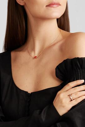 Piaget Possession 18-karat Rose Gold, Malachite And Diamond Necklace