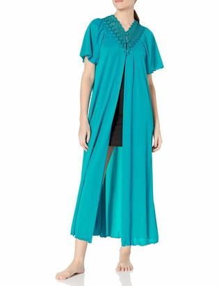 Shadowline Women's Beloved 54 Inch Flutter Sleeve Long Peignoir Robe