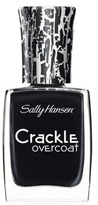 Sally Hansen Crackle Overcoat - Ink Splatter