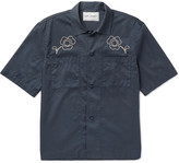 Our Legacy - Embroidered Washed-cotton Satin Shirt
