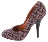 Missoni Patterned Knit Pumps
