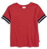 Splendid Boy's Stripe Cuff T-Shirt