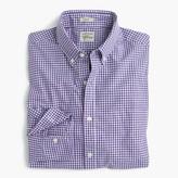 J.Crew Slim Secret Wash shirt in purple gingham