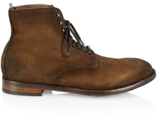 Officine Creative Emory Suede Lace-Up Boots