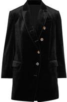 Brunello Cucinelli Velvet Blazer - Black