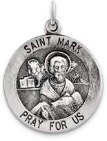 1928 Gold and Watches Sterling Silver Antiqued Saint Mark Medal