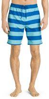 Izod Men's Striped Performance Board Shorts