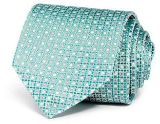 Eton Neat Grid Silk Classic Tie