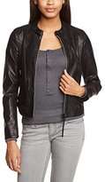 G Star G-STAR Women's Without Collar Long Sleeve Jacket - Black