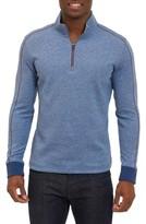 Robert Graham Men's Abdul Quarter Zip Pullover