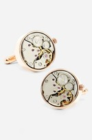 Men's Penny Black 40 'Steampunk Watch Movement' Cuff Links