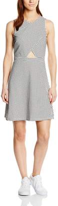 Vero Moda Women's Ubana Printed Fit and Flare Dress