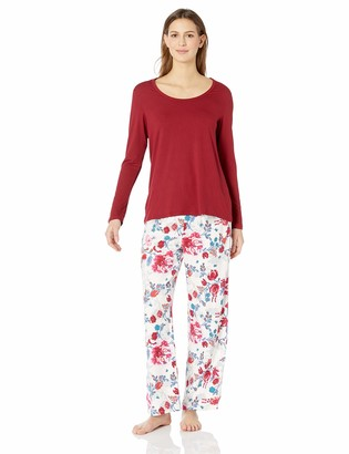Josie Natori Josie by Natori Women's Brushed Twill PJ Set