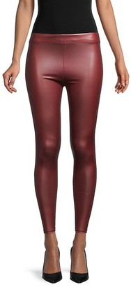 70/21 High-Rise Faux Leather Leggings