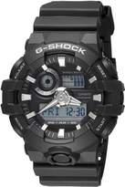 Casio Women's G-Shock GA700-1B Rubber Quartz Sport Watch