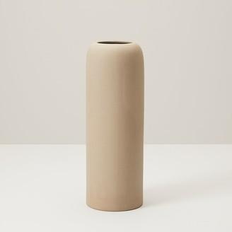 Indigo Domed Large Vase Brown