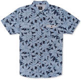 Rip Curl Men's Stalked Floral-Print Pocket Shirt