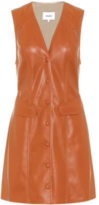 Nanushka Menphi faux-leather dress