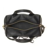 Reed Krakoff Track Satchel leather bowling bag