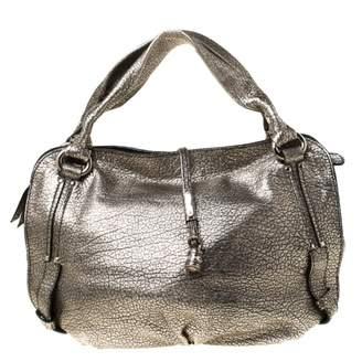 Celine Metallic Leather Handbags