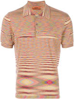 Missoni printed polo shirt