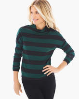 Chico's Broad Stripe Top