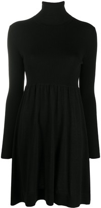 P.A.R.O.S.H. Ribbed Roll-Neck Dress