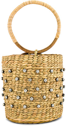 Lovers + Friends Athena Straw Bag