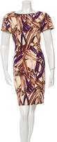 Carolina Herrera Printed Shift Dress