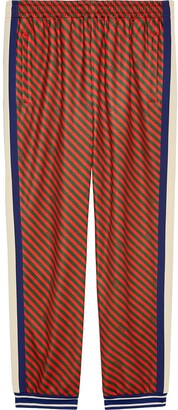 Gucci Loose striped jogging pant