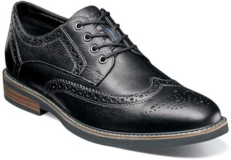 Nunn Bush Oakdale Wingtip Oxford - Wide Width Available