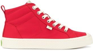 Cariuma OCA High Red Canvas Sneaker