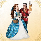 Disney Belle and Gaston Doll Set - Beauty and the Beast Fairytale Designer Collection