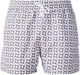 Frescobol Carioca - drawstring swim shorts - men - Cotton/Polyamide - L