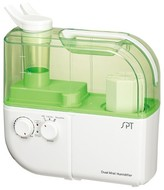 Sunpentown Dual Mist Humidifier with ION Exchange Filter - Green - SU-4010G