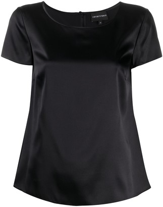 Emporio Armani Short Sleeve Blouse