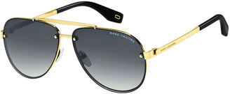 Marc Jacobs The Gradient Aviator Sunglasses