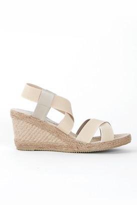 Wallis Nude Wedge Heel Sandal