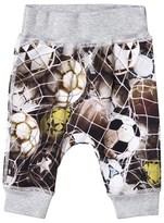 Molo Grey Sammy Ball Net Soft Trousers