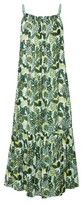 Dorothy Perkins Womens Multi Colour Leaf Print Midaxi Dress