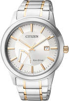 Citizen AW7014-53AStainless Steel Eco-Drive Date Watch in Silver