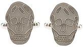Alexander McQueen skull cuff links - men - Brass - One Size